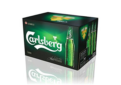Carlsberg - Birra in bottiglia da 33cl (Gamepack 24 bottiglie)