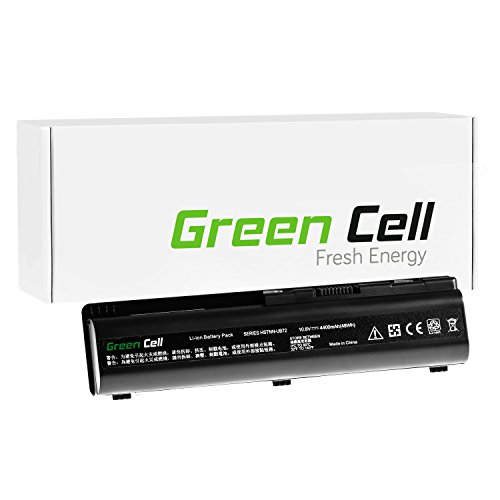 Green Cell® Standard Serie Batería para HP Compaq Presario CQ60-125ES Ordenador (6 Celdas 4400mAh 10.8V Negro)