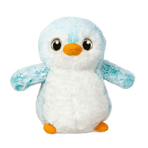 Aurora World Aurora, 73888, Pinguin, 15cm, Plüschtier, blau, Pompom Penguin Blue