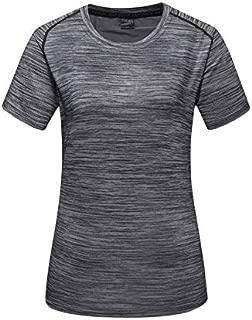 BEESCLOVER Stripe Sport T Shirt Women Brand Design Quick Dry Short Sleeve T-Shirt Sportswear Suit Tops Running Sweatshirts Jerseys