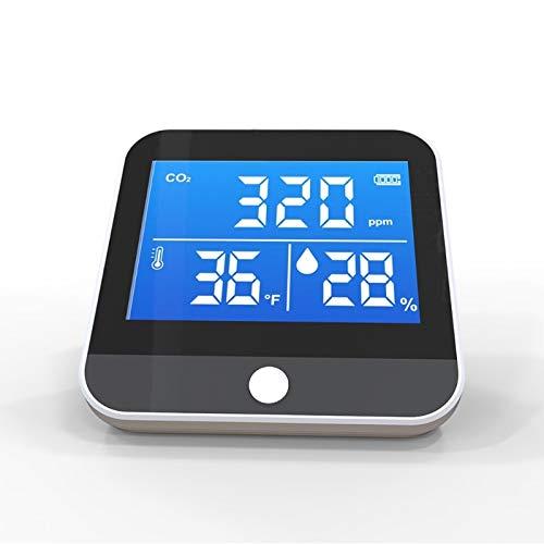 HUANGCHAO Dm306c Co2 Detektor Co2 Sensor Analysator LuftqualitäT Monitor Temperaturdetektor Feuchtigkeitsmonitor Infrarot Ndir Detector