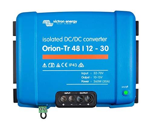 Victron Energy ORI481240110 Orion-TR Isolated DC Converter, De 48 a 12 V-30A (360W)