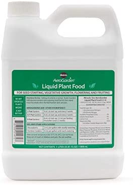 AeroGarden Liquid Nutrients (1 Liter)