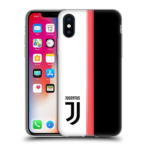 Head Case Designs Ufficiale Juventus Football Club in Casa 2019/20 Race Kit Cover in Morbido Gel Compatibile con Apple iPhone X/iPhone XS