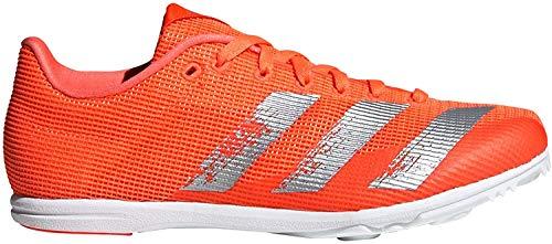 adidas Unisex-Kinder Allroundstar J Leichtathletik-Schuh, Signal Coral/White Silver MET./FTWR, 38 2/3 EU