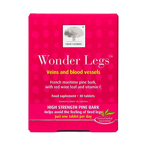 New Nordic Wonder Legs - 60 Tablets (2 Packs of 30 Tablets)