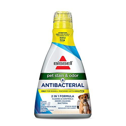 Bissell Pet Stain & Odor Plus Antibacterial 2 in 1 Carpet Formula, 1567, 40 Fl Oz