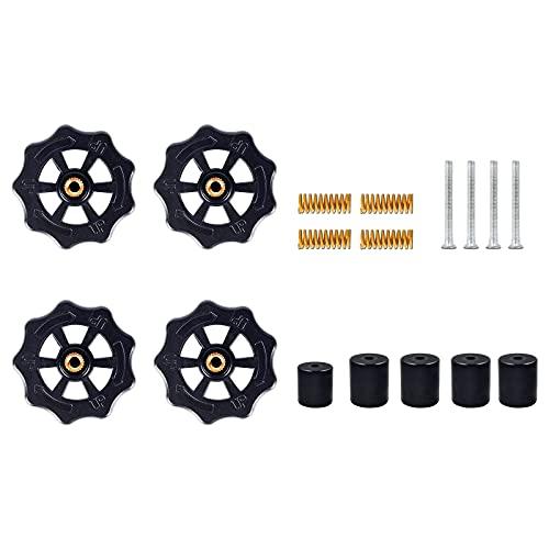 Cnloyua Stampante 3D Heatbed Livellamento Kit , 17 accessori per livellare il letto caldo , Sostituzione per Ender 3 / V2 / Ender 5