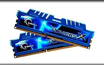 G.SKILL Ripjaws X Series 8GB (2 x 4GB) DDR3 2400MHZ Desktop Memory Model F3-2400C11D-8GXM