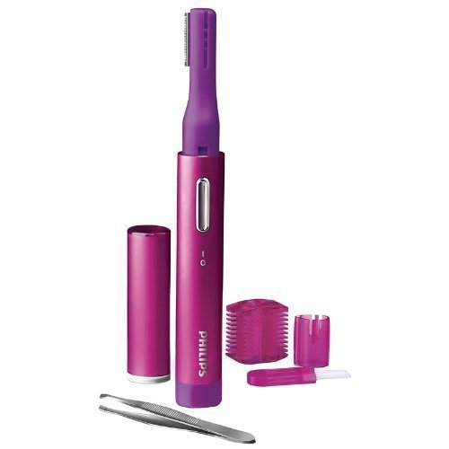Philips HP6390/10 Facial Precision Trimmer Hot Pink by Philips (English Manual)