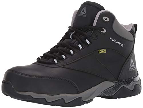 Reebok Work Men's Beamer RB1067 Work Shoe, Black, 9 M US