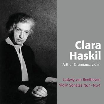 Beethoven : Sonatas For Violin and Piano No. 1 & 4