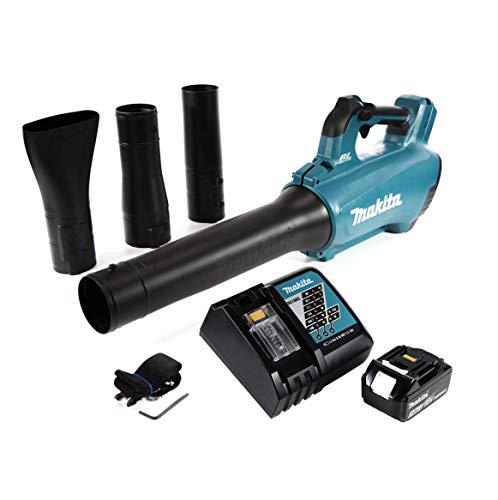 Makita DUB184RF DUB184RF-Ventilador (18 V, 3,0 Ah, 1 batería y Cargador), Azul Petróleo