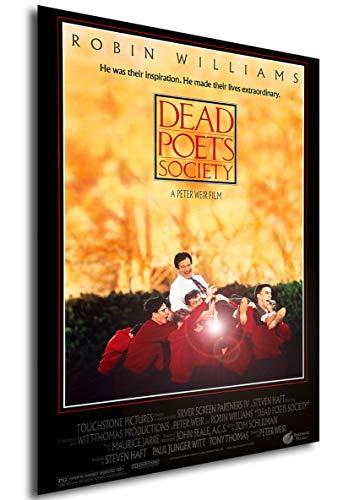 Instabuy Poster Dead Poets Society (Der Club der Toten Dichter) Vintage Theaterplakat - A3 (42x30 cm)
