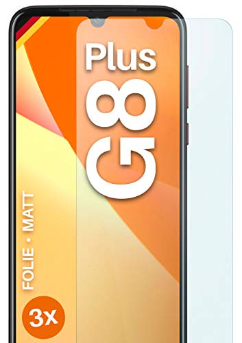 moex Protector de pantalla mate compatible con Motorola Moto G8 Plus – Protector de pantalla antirreflectante, protector de pantalla mate – 3 unidades