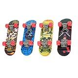 NUOBESTY Finger Skateboard Mini Tastiera Professionale bomboniere Giocattolo per Bambini R...