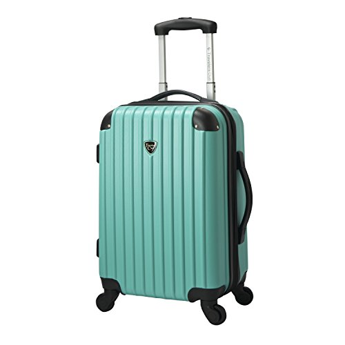 Travelers Club Luggage Madison 20' Hardside Exp Carry-on Spinner, Black