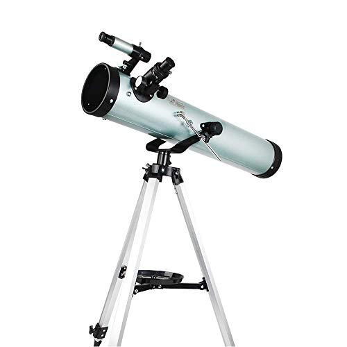 Telescopio de alta definición para niños principiantes, telescopio de viaje de 125 mm con trípode y telescopio astronómico para adultos Gran astronomía para explorar luna y avión