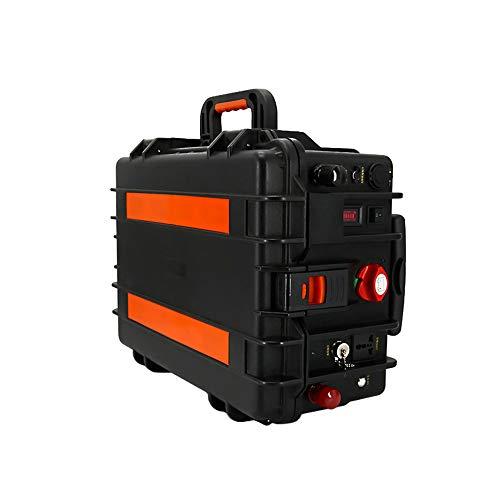 MSG ZY Central eléctrica portátil de 2000W-3000W, CC/CA, generador portátil para Exteriores de 110 V / 220 V, generador Generador Solar portátil para Viajes de Campamento al Aire Libre