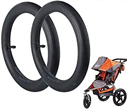 Wadoy 16'' x 1.75/2.15 Inner Tube Thorn Resistant for BOB Revolution SE/Flex/Pro/Sport Utility/Ironman Strollers Replacement for BOB Stroller Tire Tube