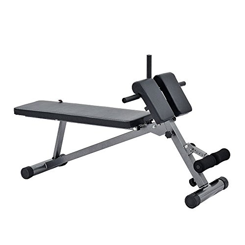 Find Bargain Back Inversion Table Supine Board / Sit-up Fitness Equipment / Home Abdomen Multi-funct...