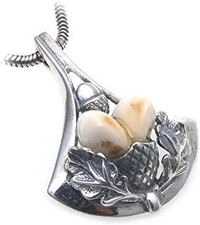 Grandel Krawattennadel echt Silber 925 Jagdschmuck Grandelschmuck Anstecknadel