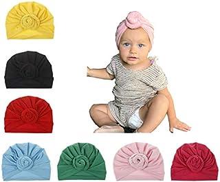 Upsmile Baby Girl Hat Newborn Hospital Hat Infant Turban...