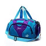 Bolso de hombroBolsa de Piscina Impermeable con Compartimento para Zapatos Bolsas Deportivas de Viaje al Aire Libre Hombres Ligero Mujer Gimnasio Yoga Bolso de Equipaje Bolsas de Equipaje