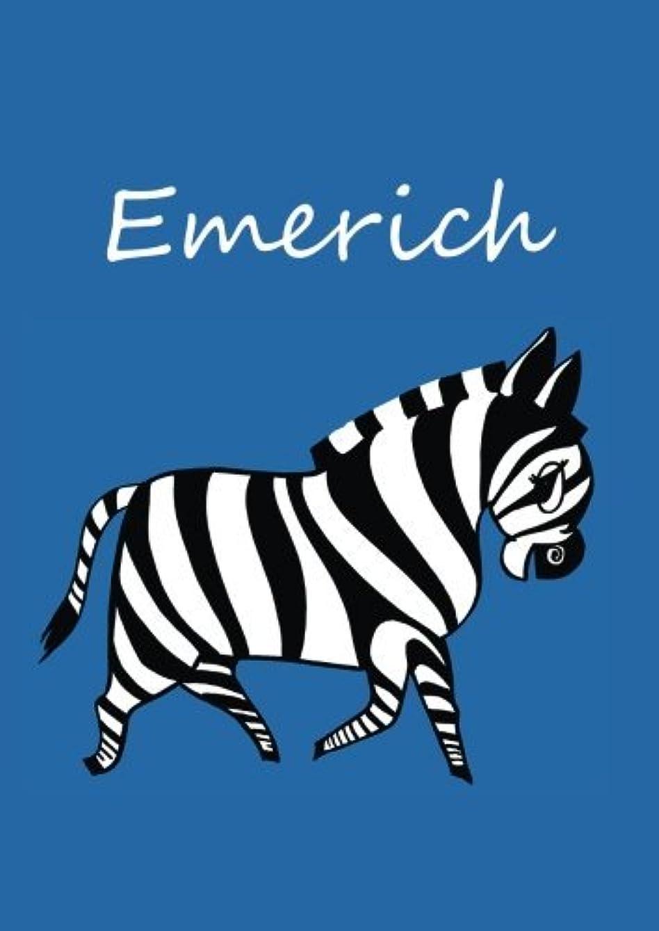 敬想像力豊かなコーヒーEmerich: individualisiertes Malbuch / Notizbuch / Tagebuch - Zebra - A4 - blanko