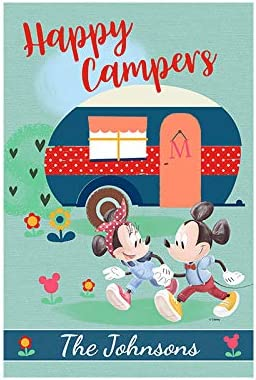 We OFFer at cheap prices Flagology Disney Gifts Personalized Happy Campers Minnie Mickey â