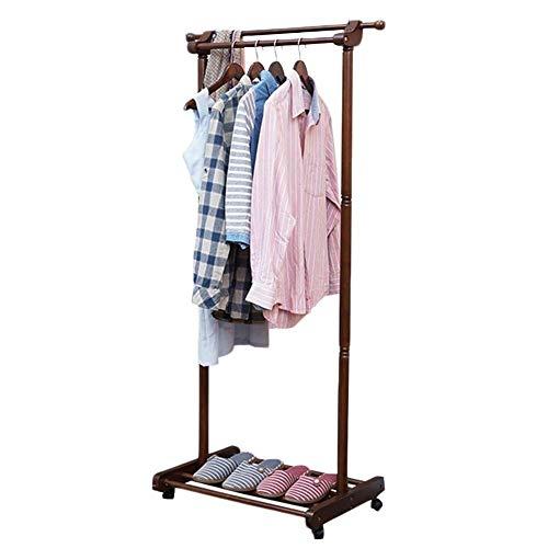Boden stehender Kleiderbügel Hutständer Home Universal Wheel Design Lagerregal Trockenregal wasserdichte Farben
