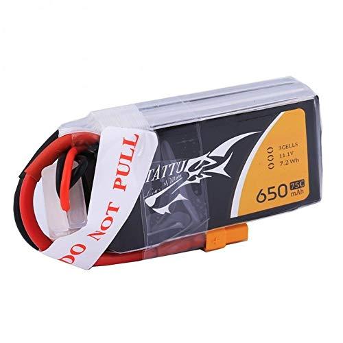 Gens Ace TATTU LiPo Akku Pack 3S 650mAh 11,1V 75C 150C FPV Racing