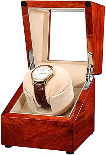 YUNLILI Renuador de un Solo Reloj para Relojes automáticos, Caja de rotación de Reloj con Motor súper silencioso, Almohada Flexible de Lujo