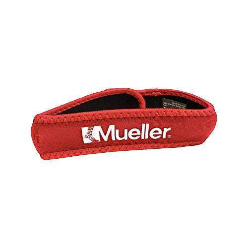 Mueller Banda para la rodilla, Rojo, talla unica