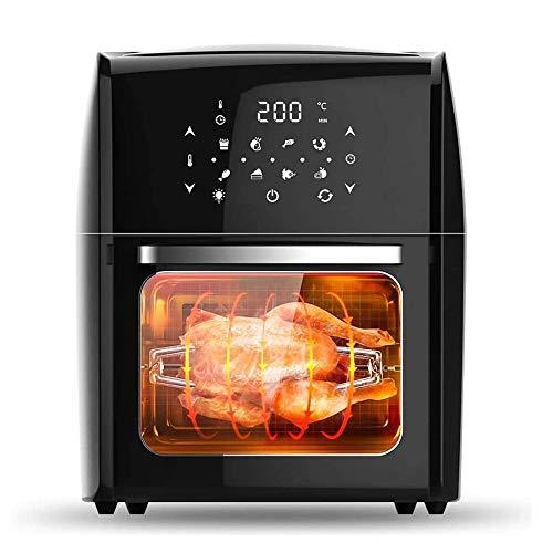 ONLYU Startseite Air Fryer, 1800W 12.5L LED Digital Touch Screen Backofen Elektrische Fritteusen Mit Timer Temperaturregelung, Stromversorgung Haushalt Non-Stick, Große Kapazität Gesundheit Pot