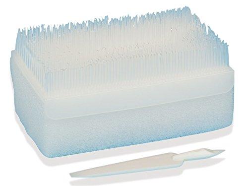 Gima - CoreScrub, Kit Pulizia Mani da Sala Operatoria, Spazzola con Setole, con Stilo Netta-Unghie e Spugnetta Intrisa di Detergente e Disinfettante alla Clorexidina, Multilingue, 30 Pezzi