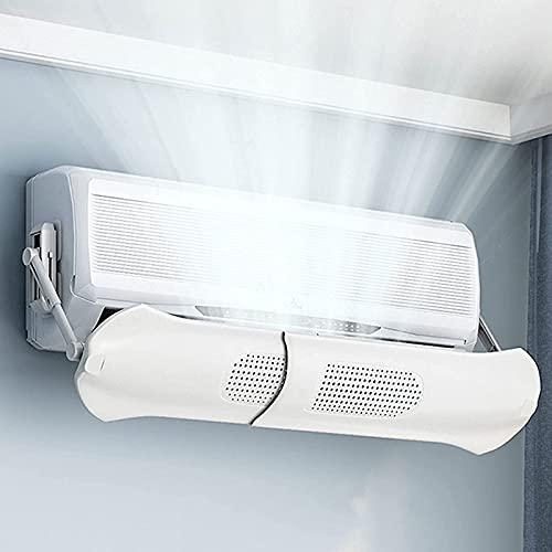 N / B Deflettore AC Deflettore Aria condizionata Split Deflettore Aria condizionata Regolabile, Staffa Rimovibile per casa e Ufficio