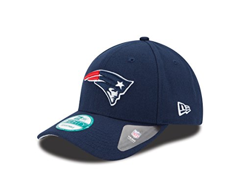 New Era 9FORTY NFL The League New England Patriots Kappe, Blau, One Size