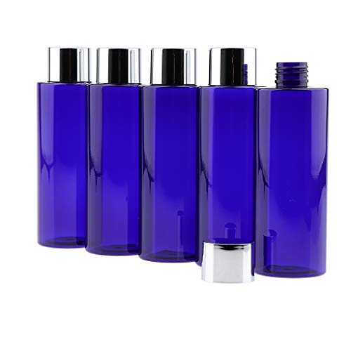 Sharplace 5pcs Vides Bouteille Vide Cosmétiques Rechargeables Pour Shampooing Contaiers Liquides Lotions - 200ML