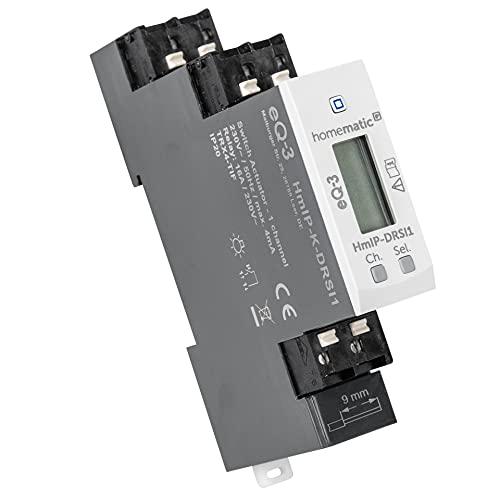 Homematic IP ELV Bausatz Funk-Schaltaktor für Hutschienenmontage HmIP-K-DRSI1