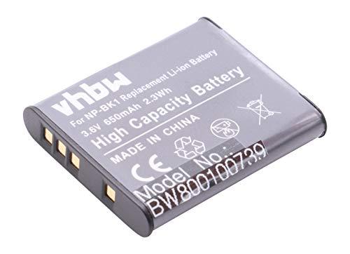 vhbw Batería Compatible con Sony Bloggie MHS-CM5, MHS-PM5, MHS-PM5K reemplaza NP-BK1 /...