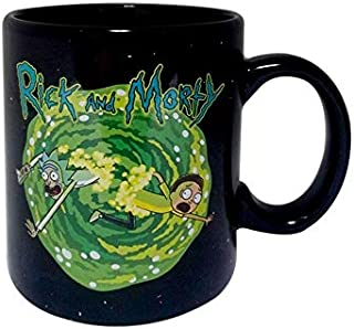 heat changing rick and morty mug