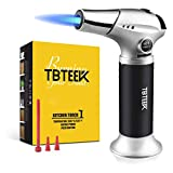 TBTEEK Kitchen Torch, Fit All Tanks Butane Torch Cooking Torch with Safety Lock & Adjustable Flame...