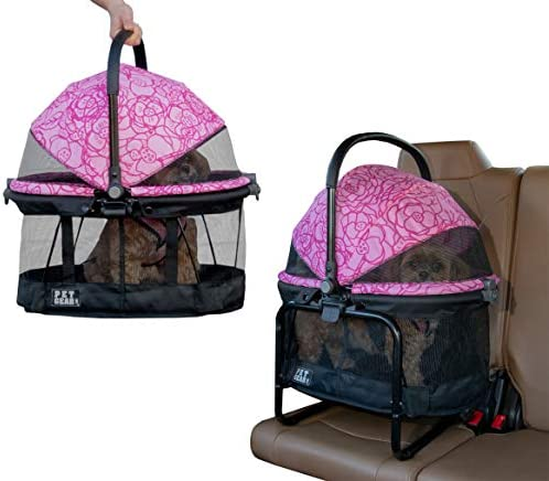 Pet Gear View 360 Pet Carrier Car Seat with Booster Seat Frame for Small Dogs Cats with Mesh product image