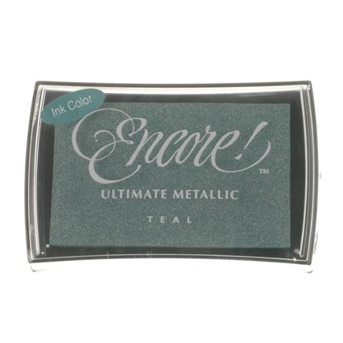 Encore Ultimate Metallic Full Size Pad-teal