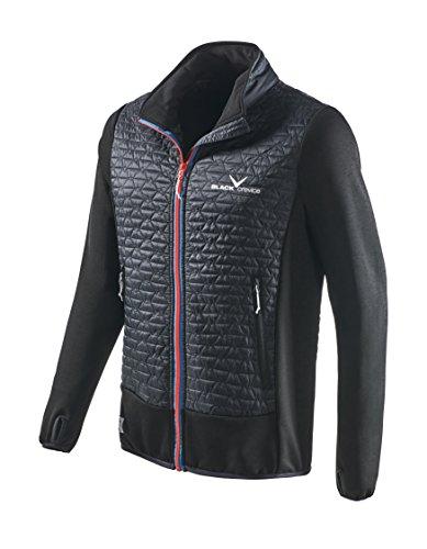 Black Embout Crevice Messieurs 3 Hybrid Jacket, Noir, 3 XL
