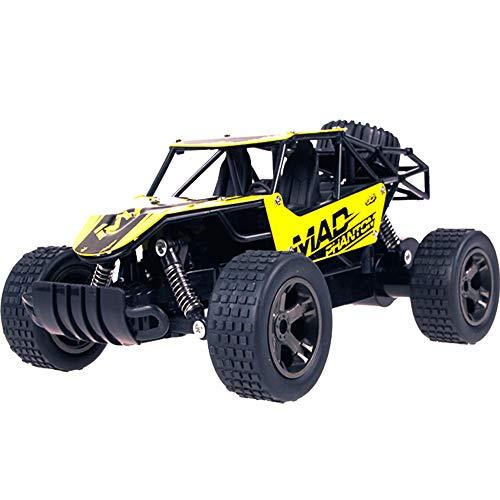 Carrinho de controle remoto off-road Lutun 1:20, caminhão monstro de controle remoto de terreno, rádio de 4 rodas RC carro de 2,4 GHz com antiderrapante para crianças e adultos