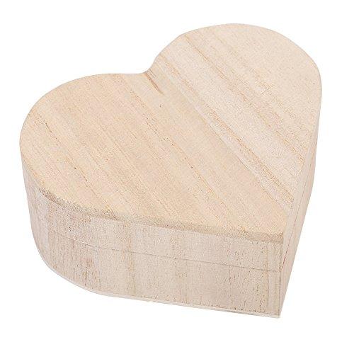 Handgefertigte hölzerne Aufbewahrungsbox Holzkästchen