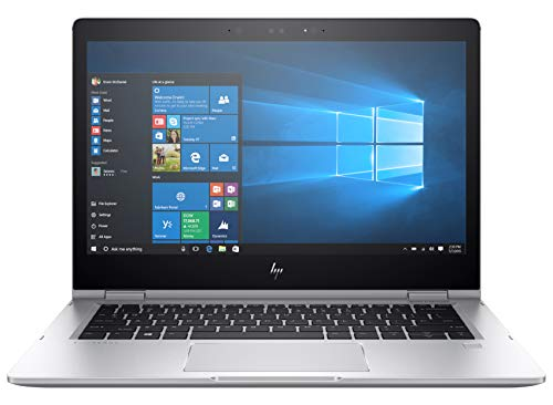 HP Elitebook X360 1030 G2 Notebook PC Convertibile, Intel Core I7-7600U, RAM 16 GB, Display 13.3  FHD 1920 x 1080 Touch, SSD da 256 GB, Argento