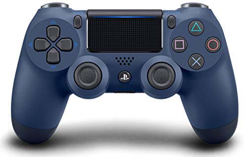 DualShock 4 Wireless Controller for PlayStation 4 - Midnight Blue (Renewed)